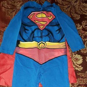 Superman dress-up/pj's